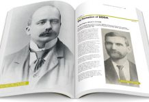 125 year pictorial book open pages