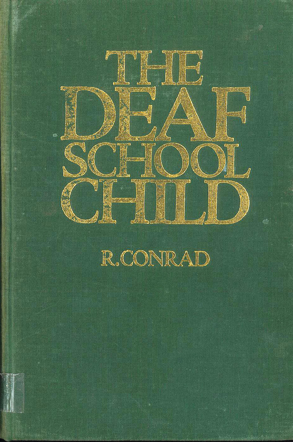 the deaf school child book conrad