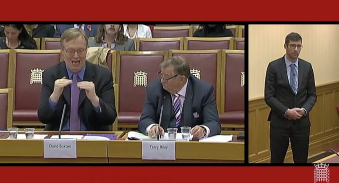 david buxton terry riley interpreter house of lords