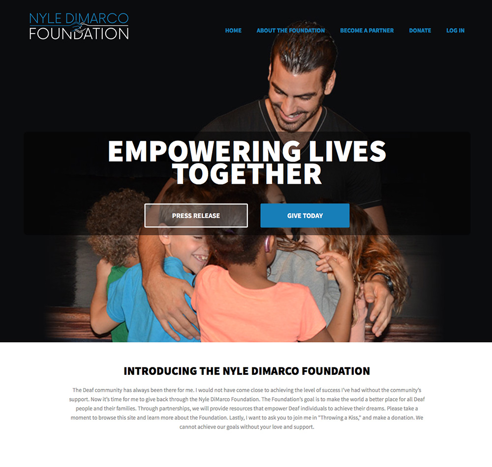 nyle dimarco foundation