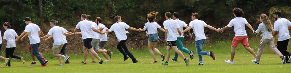 eudy youth camp running activity