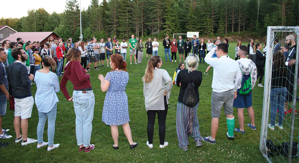eudy youth camp circle photo