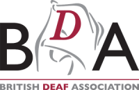 British Deaf Association logo