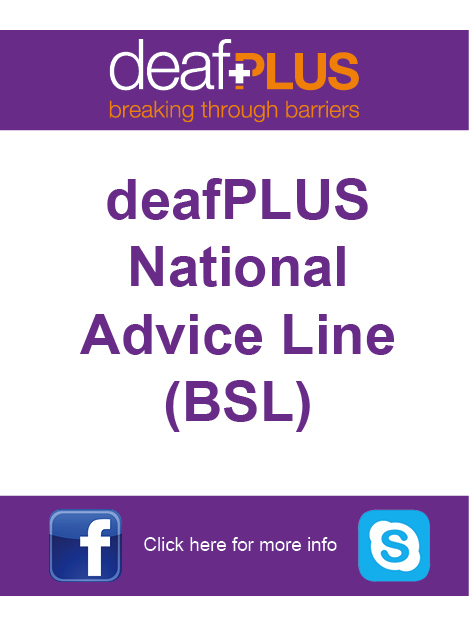 deafPLUS - Deaf Directory advert