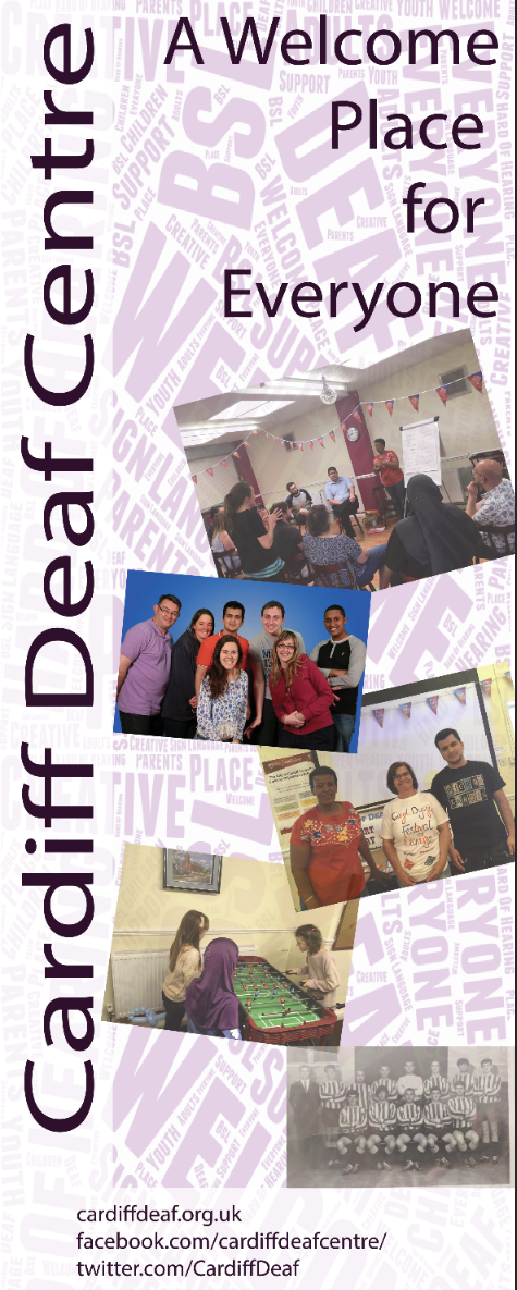 Cardiff Deaf Centre - banner