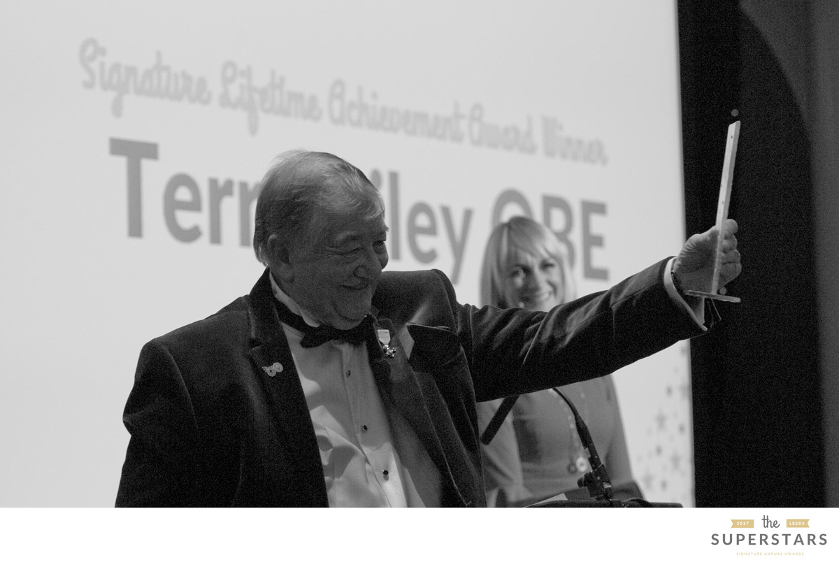 Dr Terry Riley OBE - Lifetime Achievement Award