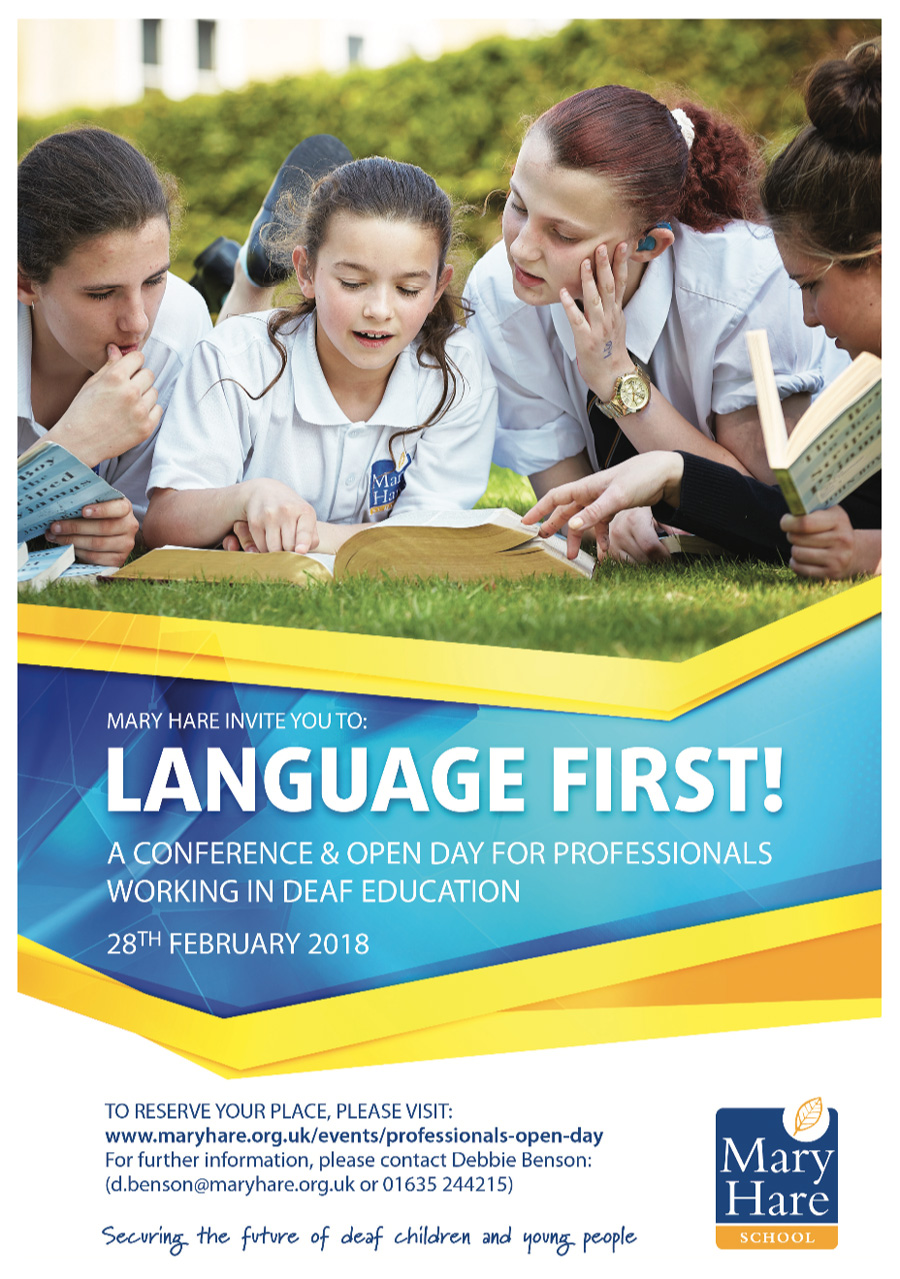 Mary Hare - Language First!