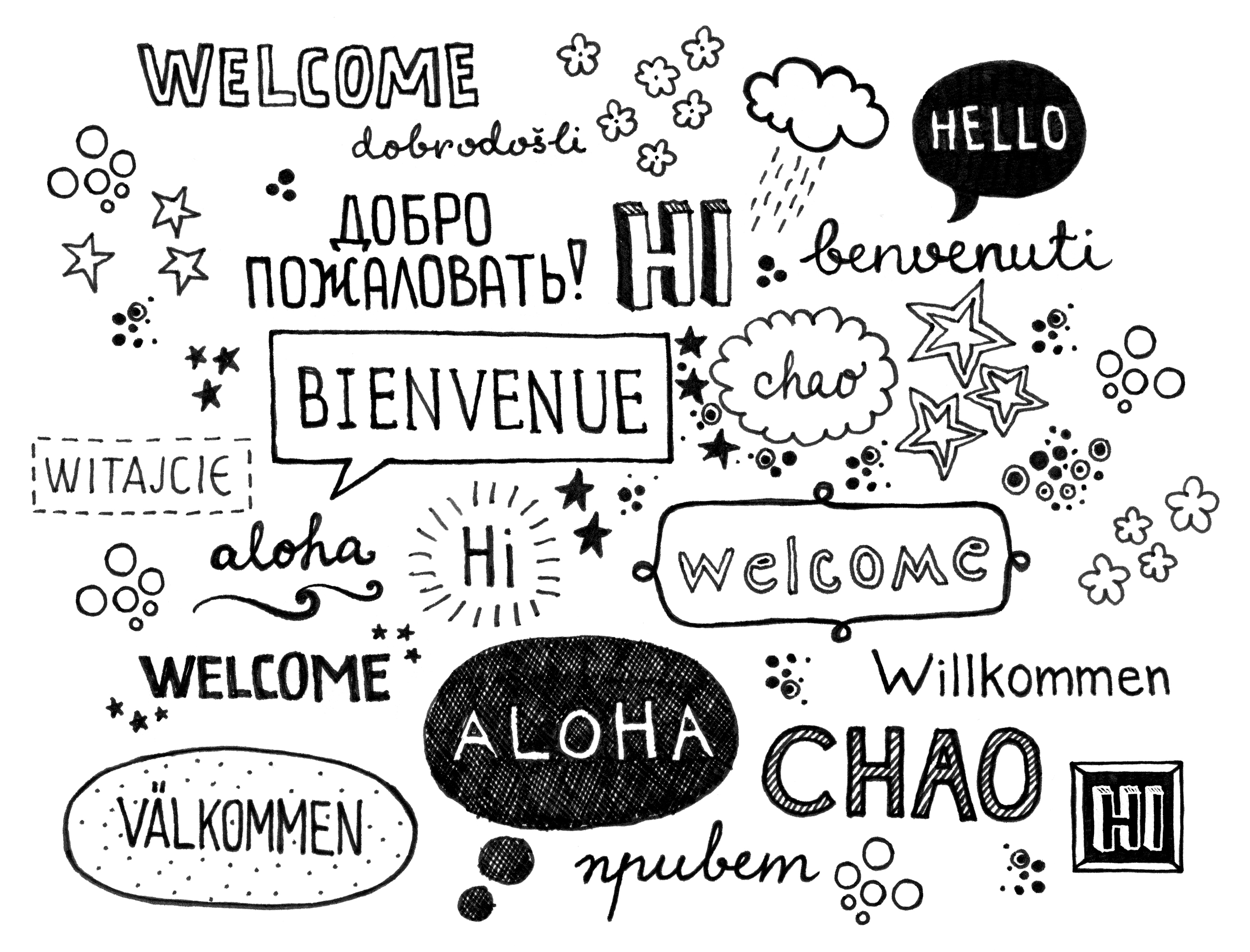 Different foreign languages