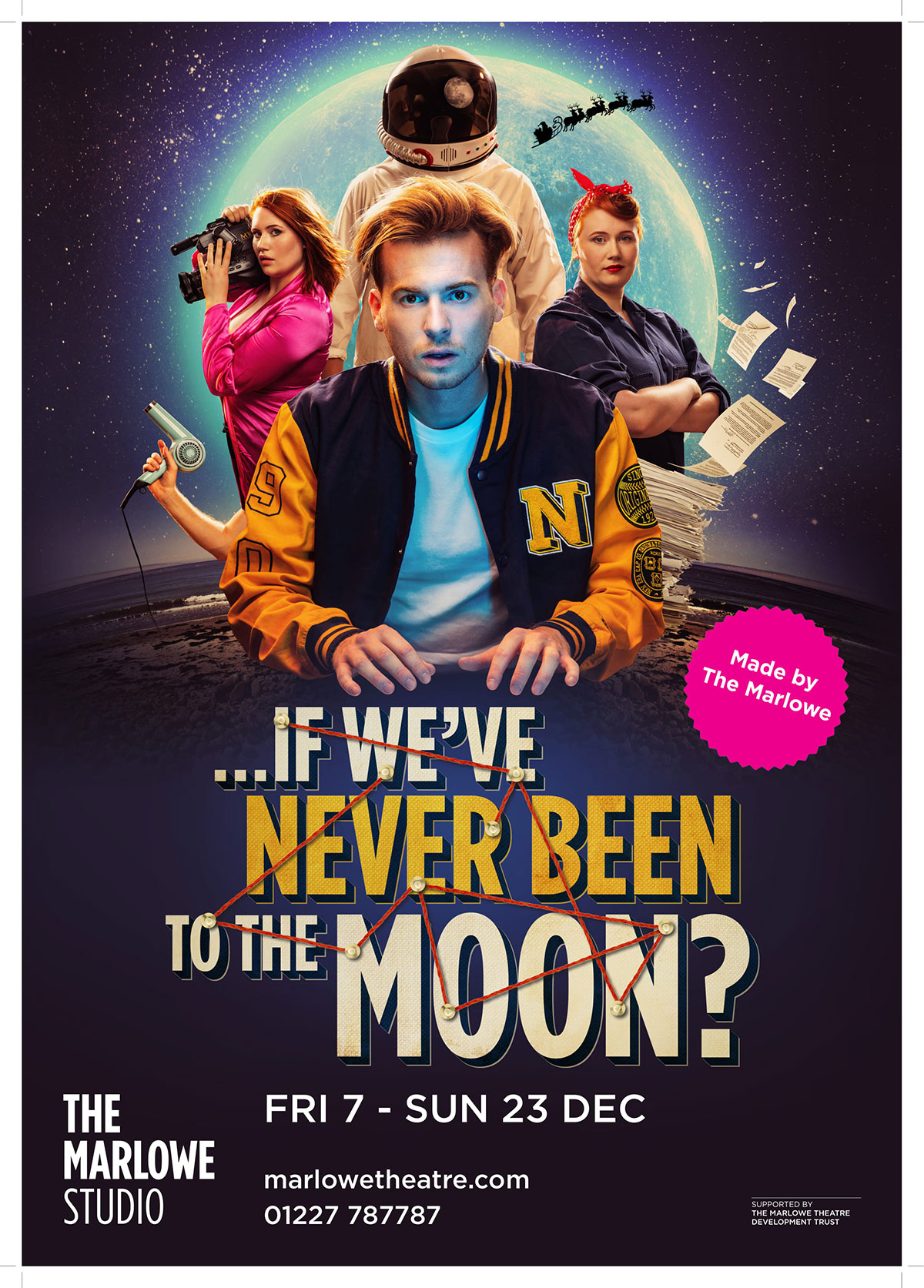 …If We've Never Been To The Moon?