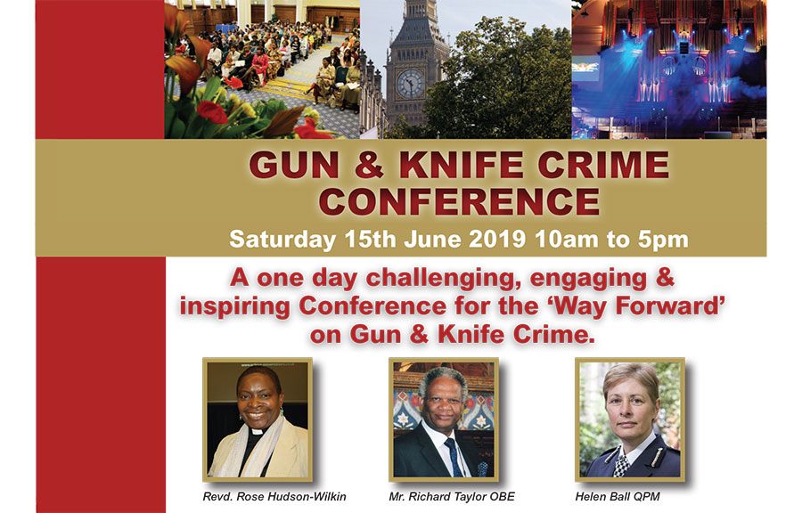 Gun and Knife Crime Conference