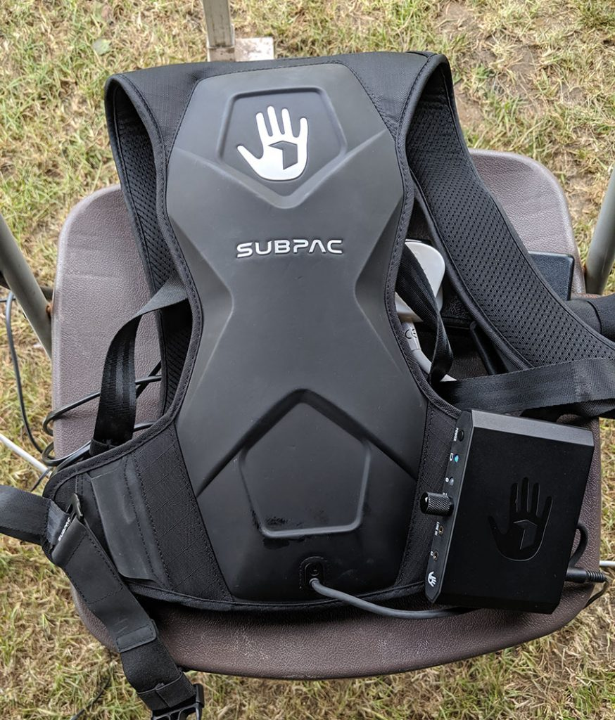 Picture of a SubPac